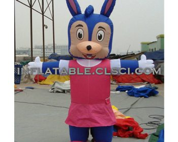 M1-281 inflatable moving cartoon