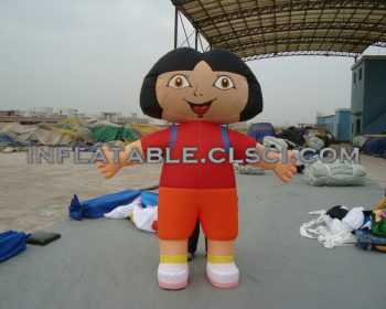 M1-59  inflatable moving cartoon