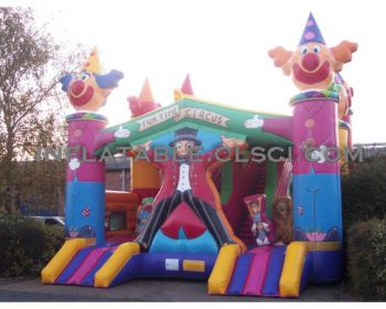 T2-761 inflatable bouncer