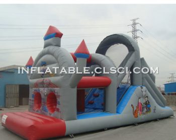 T7-491 Inflatable Obstacles Courses