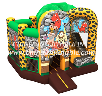 T2-3321 bouncy castle with slide
