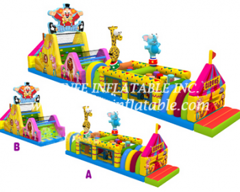 T7-563 obstacle course
