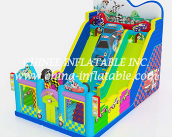 T8-1512 inflatable slide