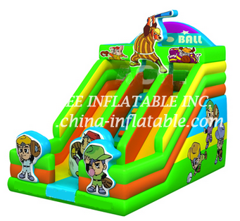 T8-1513 inflatable slide