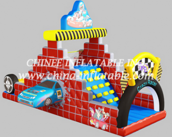 T8-1516 inflatable slide