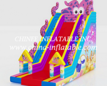 T8-1522 inflatable slide