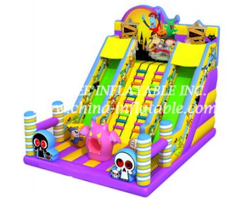 T8-1523 inflatable slide