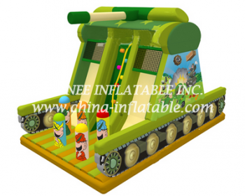 T8-1524 inflatable slide
