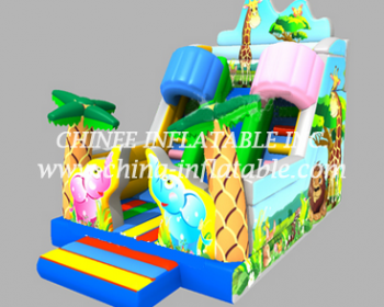 T8-1525 inflatable slide
